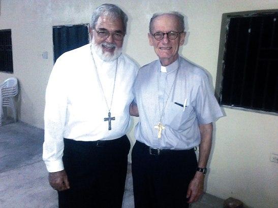 Nuestro agradecimiento a usted querido Monseñor Emiliani, en nombre de su hermano en el episcopado Monseñor Guido Charbonneau, presbiterio y feligresía de Choluteca.
