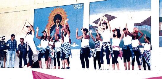 Las coreografías llenas de sintonía dejaron a la luz la  forma como se prepararon lo grupos juveniles.