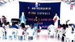 Los coordinadores del evento dieron la bienvenida a los asistentes.