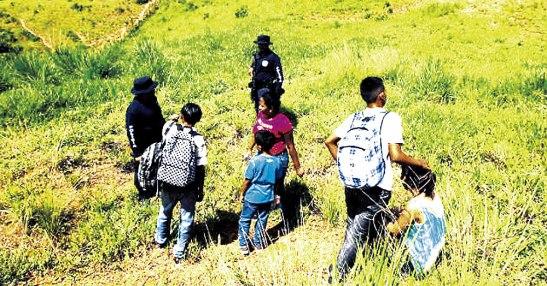 Las estadísticas reflejan que las edades de los menores que van es la ruta migratoria andan de 8 a 16 años