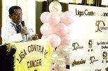 Doctor Maldonado lanzando nueva campaña contra cáncer.