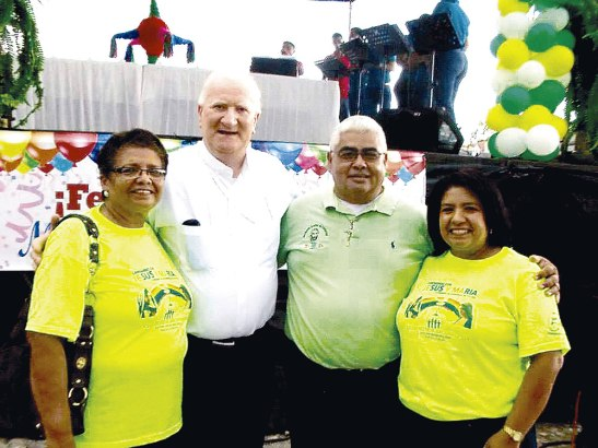 Feliz Cumpleaños Michael Lenihan OFM Obispo de Diócesis de La Ceiba.