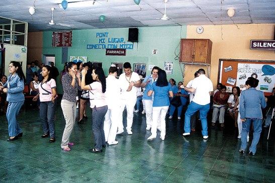 Bailes, juegos y otras actividades se llevaron a cabo para celebrar esta Semana de Salud Mental.