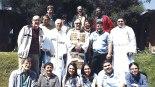 Parte de los asistentes en este encuentro latinoamericano de Institutos de Pastoral Juvenil.