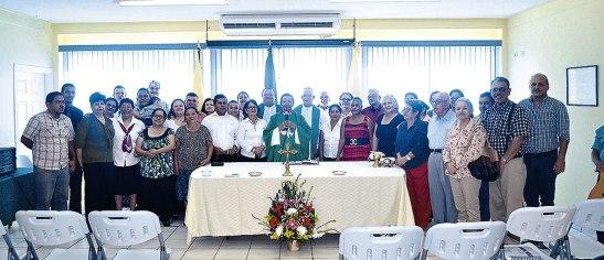 Durante seis meses se prepararon los voluntarios en el tema de Cáritas Parroquial, quienes serán los agentes multiplicadores de este proyecto.