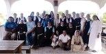Foto del recuerdo de la mayoría de las hermanas y hermanos que participaron de la jornada.